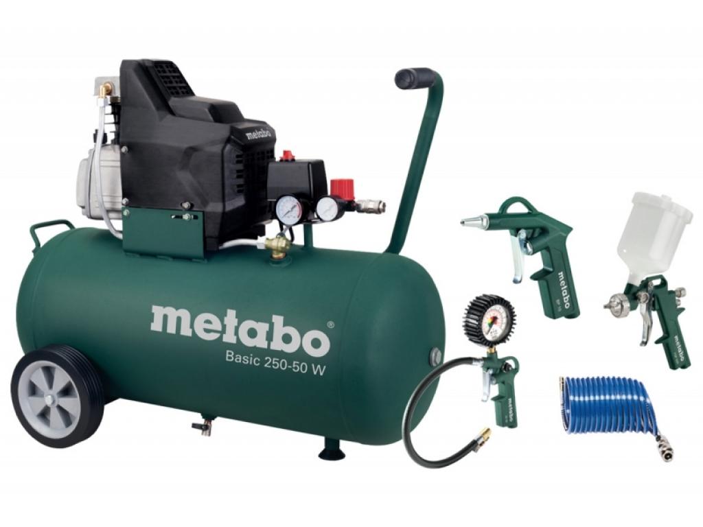 basic 250 50 w metabo compresor cu piston putere motor 1 5 kw. Black Bedroom Furniture Sets. Home Design Ideas