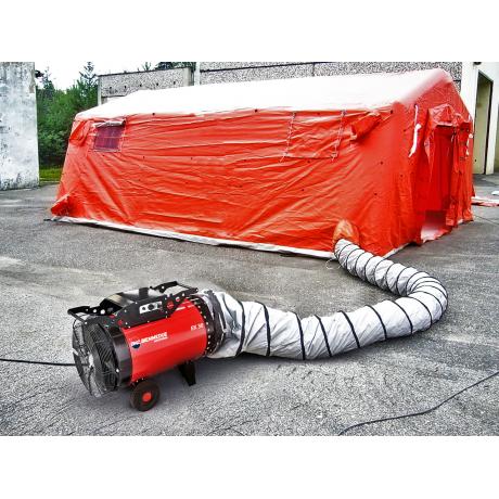 Aeroterma industriala EK 15 C Biemmedue, 15 kW , debit aer 2000 m3/h , 380 V