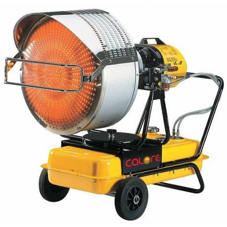 VAL 6 Calore Generator de aer cald pe motorina cu raze infrarosu