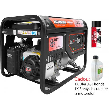 AGT 3501 HSB TTL GP 200 Cadou 1 Bidon de ulei 0.6 l honda + Aditiv combustibil Briggs&Stratton 100 ml