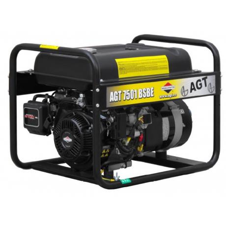 AGT 7501 BSB R26 Generator curent electric , putere 6.4 kVA monofazat  , pornire la sfoara