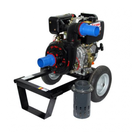 DKD DWP 186 K  Motopompa Diesel de presiune Dakard
