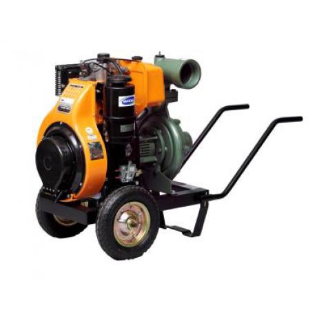 4LD 640LY3 MS Antor Motopompa apa semi-murdara , pornire electrica , motor 13 Cp