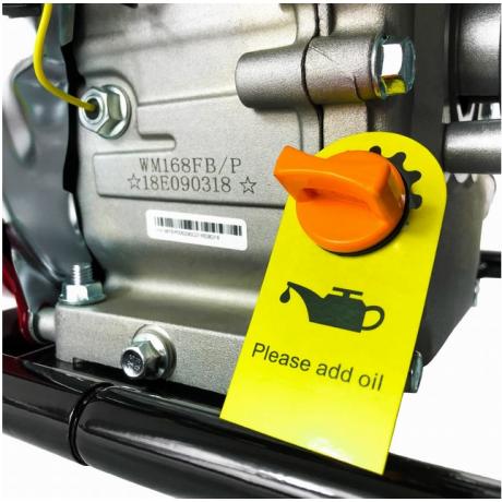 WMQGZ 50-32 Motopompa benzina apa curata Weima , senzor in baiai de ulei