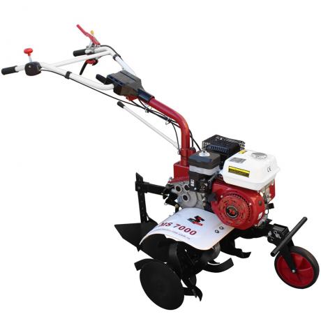 MS 7000 Motosapa  pachet TOP cu accesorii, motor 7 cp,roti pneumatice,plug bilonat,roti metalice,plug simplu,prasitoare,extractor cartofi