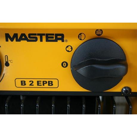 Master B 2 EPB aeroterma electrica cu flux de aer