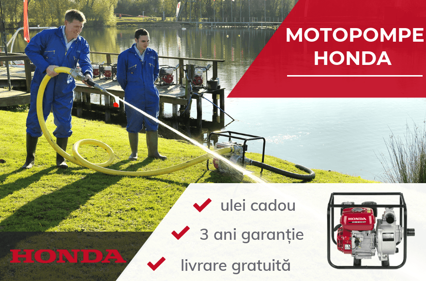 Honda motopompe slider