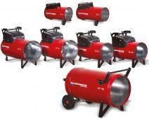 Generatoare caldura pe gaz GPL