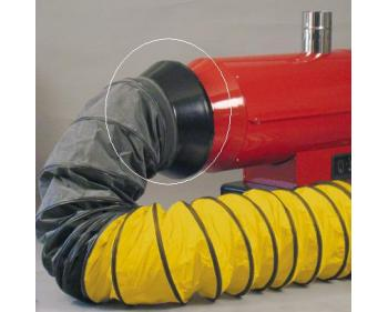 Racord de legatura dirijare caldura  400  mm 02AC503