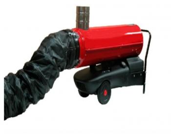 ACC42  PVC  Calore Tubulatura flexibila din PVC , lungime 6m , diametru 250mm