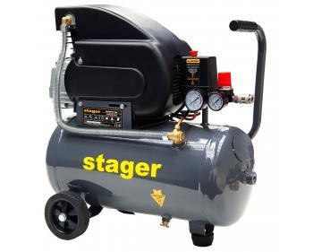 HM2024F Stager Compresor  ,putere motor 1.5 kW , capacitate rezervor 200L