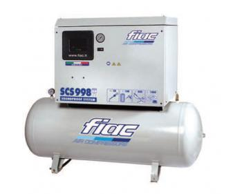 SCS 415/200 Fiac Compresor aer silentios