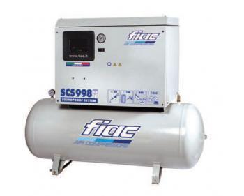 SCS 998/300 Fiac Compresor aer silentios