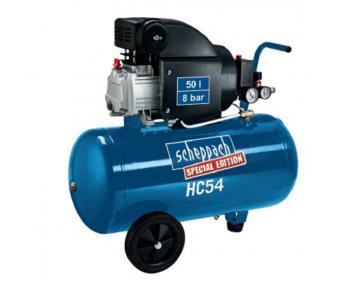 HC 54 Scheppach  Compresor cu piston , putere 1.5 kW , debit 220l/min