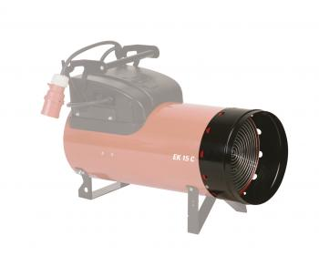 Adaptor pentru tub flexibil diametru 300 mm Biemmedue , potrivit pentru EK10C , EK 15C , cod 06AC101