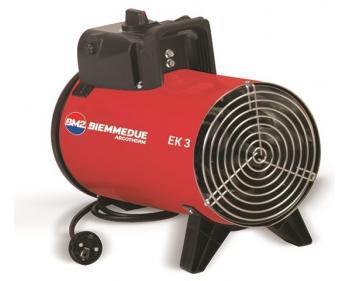 Aeroterma industriala EK 3 C Biemmedue, 3 kW , debit aer 450 m3/h , 230 V
