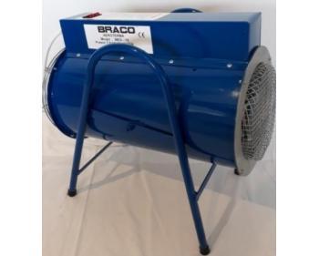 THMES 15  Braco Tun electric de caldura  , debit aer 1.350 mc/h, forma circulara