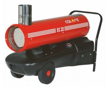 EC 22 Calore Generator de caldura , putere 22 kW , motorina ardere directa,putere calorica 23.4kW