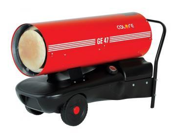 GE 47 Calore Generator de aer cald cu ardere directa 49 kW , debit aer 1660 mc/h