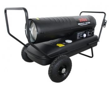 Generator de aer cald cu ardere directa pe motorina Zobo ZB-K175 , putere 51 kW