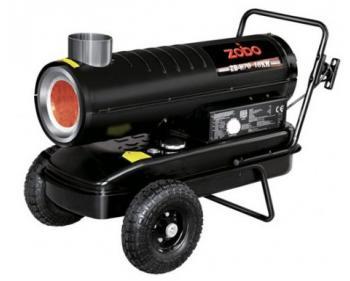 Tun de aer cald cu ardere indirecta pe motorina 18 kW Zobo ZB-H 70