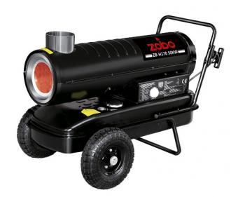 Tun de aer cald Zobo ZB-H170, ardere indirecta , putere 50 kW , monofazat , combustibil (Motorina/Kerosen) , cod  4590005170
