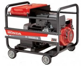 H 5500M AUT Antor  Generator curent  monofazat cu automatizare , Honda OHV , putere motor 5.5 kVA