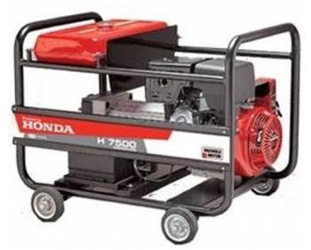 H 7500T MS Antor  Generator curent trifazat , Honda OHV , putere motor 7,5 kVA