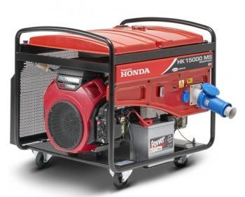 HK 12000T ES Antor  Generator curent trifazat, Honda OHV , putere motor 12 kVA