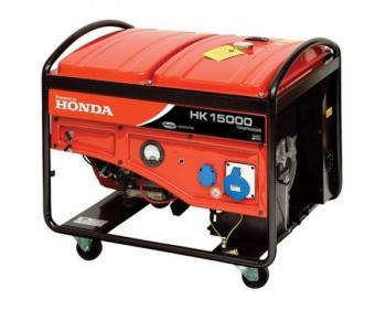HK 15000T ES Antor  Generator curent trifazat ,  Honda OHV , putere motor 15 kVA