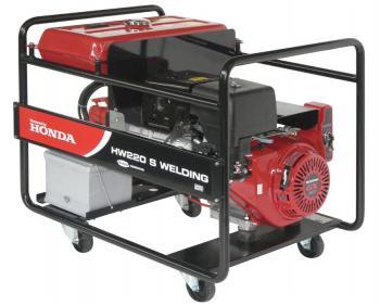 HW 220 Generator sudura industrial  HONDA 200 A DC