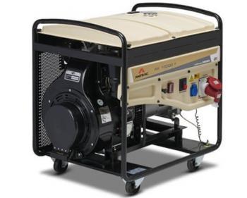 AK 10000 TS Antrac Generator de curent trifazic cu pornire electrica si putere maxima de 10 KVA , cod AK10000TS