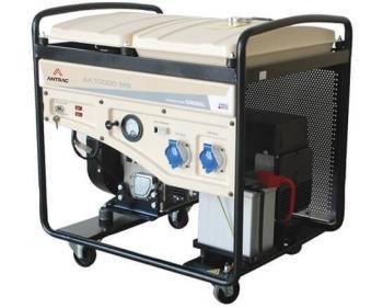 AK 10000 MS Antrac Generator de curent monofazat cu pornire electrica si putere maxima de 10KVA , cod AK10000MS