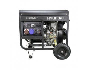 DHY8500LEK-T  Hyundai Generator de curent electric trifazat ,  putere motor 5 kVA , tip motor Hyundai D500E