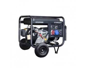 HY10000LEK-T Hyundai Generator de curent electric trifazat ,  putere motor 9.4 kVA , tip motor Hyundai IC460E