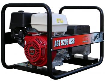 Generator electric trifazat cu motor Honda AGT 8203 HSB