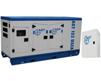 AGT 132 DSEA ATS 164 Generator cu pornire automata , putere 127 kVA ,cu bujii incandescente si preincalzire lichid