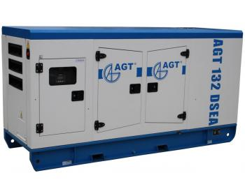 Grup electrogen AGT 132 DSEA , 127 kVA , diesel , motor 4 cilindri , cu bujii incandescente si preincalzire lichid