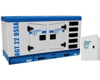 AGT 22 DSEA ATS 22 Generator curent diesel cu automatizare , putere 22 kVA  ,cu bujii incandescente si preincalzire lichid