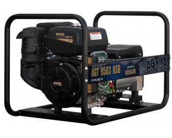 Generator curent electric trifazat AGT 9503 KSB , motor Kohler , demaror cu sfoara