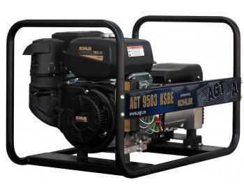 Generator curent  trifazat  AGT 9003 KSBE , motor Kohler , demaror electric 12 V