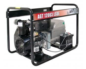 Generator de curent diesel trifazat  AGT  12003 LSDE , motor Lombardini , demaror electric 12 V