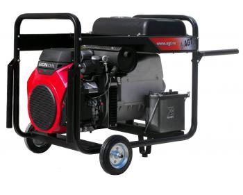 Generator de curent electric trifazat AGT 14003 HSBE 16L , demaror electric 12 V