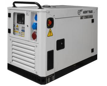 Generator diesel 12 Kva Trifazat AGT 12003 DSEA cu carcasa de insonorizare