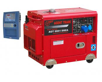AGT 6851 DSEA + AT 206 Generator electric cu automatizare