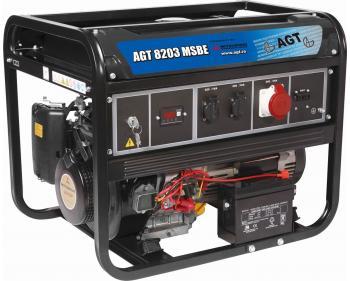 Generator  Mitsubishi AGT 8203 MSB , motor Mitsubishi , demaror cu sfoara
