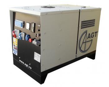 Generator trifazat AGT 7 LSM , motor Lombardini , demaror electric 12 V