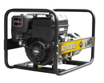 Generator trifazat AGT 9003 BSB SE , motor Briggs&Stratton SUA , demaror cu sfoara