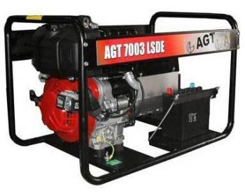 Generator trifazic AGT 7003 LSDE .motor Lombardini , demaror electric 12 V