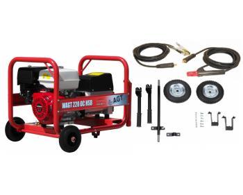 WAGT 220 DC HSB RR Generator sudura + kit roti + kit sudura
